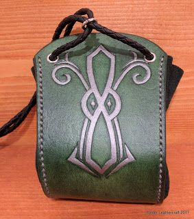 Foster Leathercraft: Dice Pouches, Custom Designs