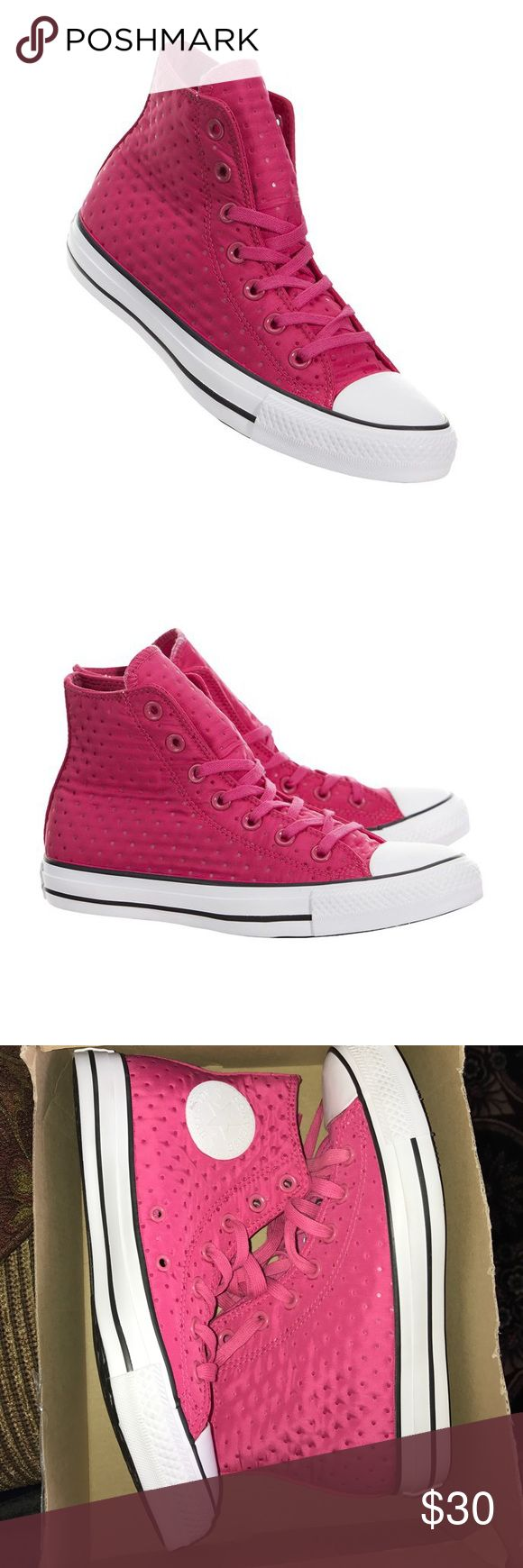 Pink high top converse New Converse Shoes Sneakers