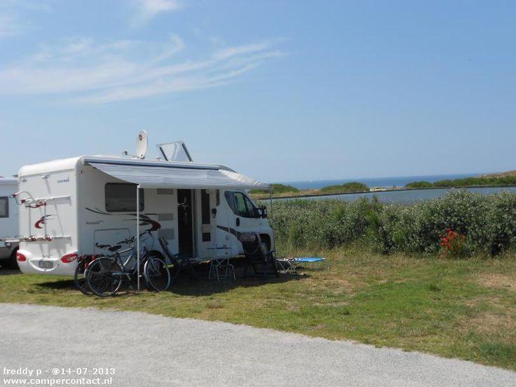 Camperplaats Quiberon - Aire de Camping-Car - Frankrijk