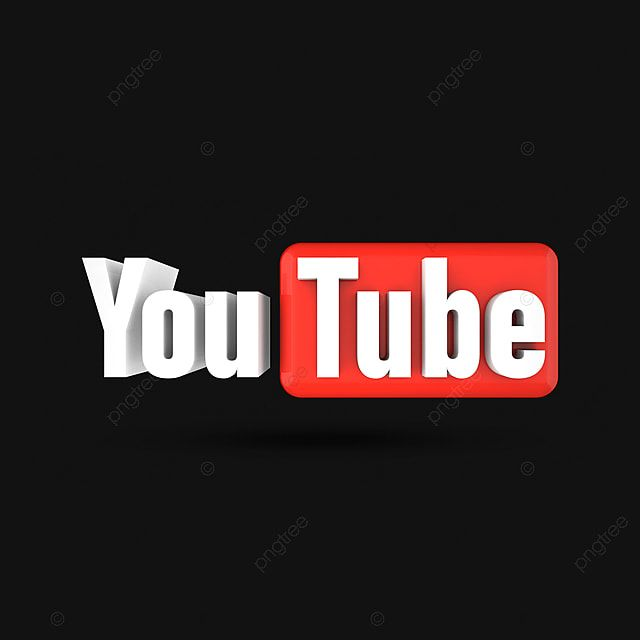 Black Youtube 3d Youtube Icon Png Youtube Subscribe Logo Png Png Transparent Clipart Image And Psd File For Free Download In 2021 Youtube Logo Png Youtube Logo Subscribe Logo Png