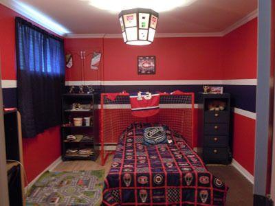 Bedroom Ideas Hockey 11 best jamies new room ideas images on pinterest | bedroom ideas
