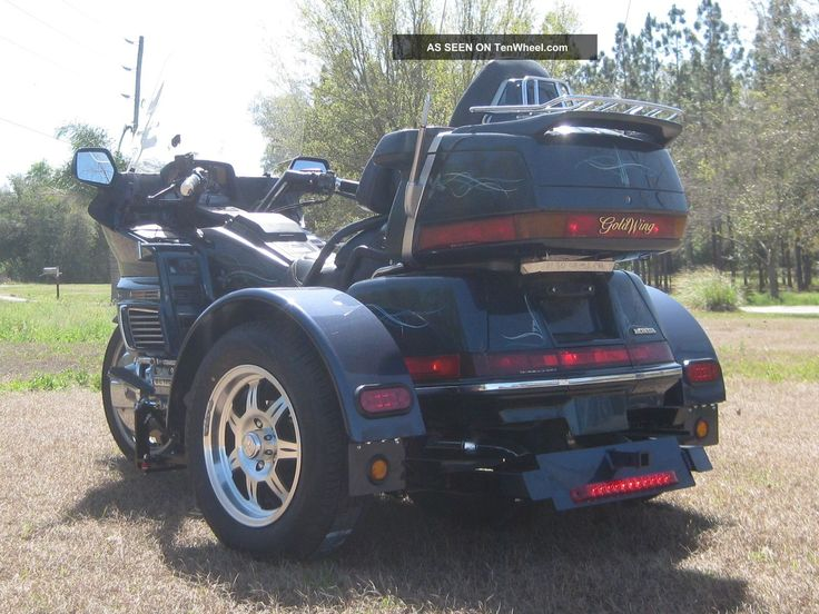 trikes motorcycles | Richland Roadster Motorcycle Trike Conversion Kit And Honda Goldwing ...