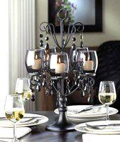 Crystal chandelier CANDELABRA Candle Holder