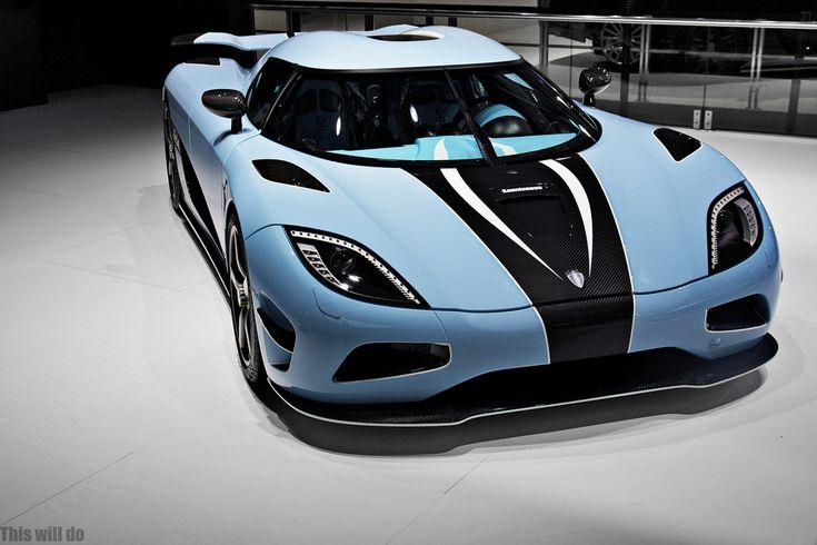 baby blue koenigsegg agera r | Things on Wheels ...