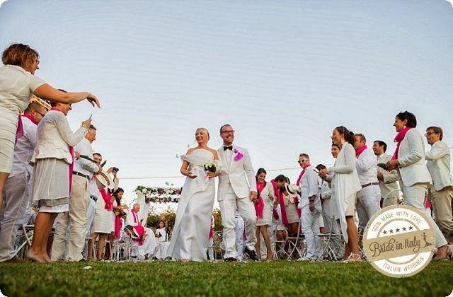 Bride in Italy: Real Wedding   Total White Wedding - Morlotti Studio