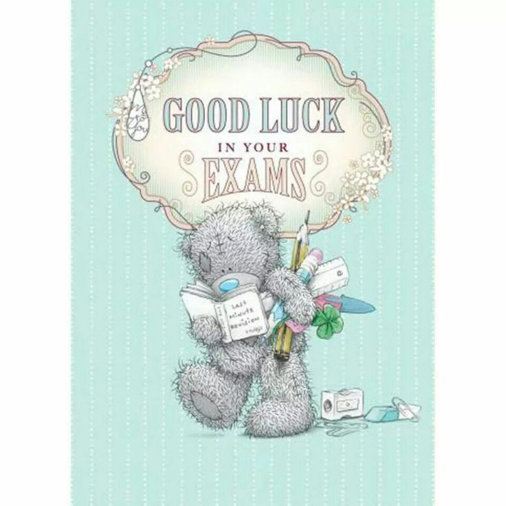 15 best exam good luck images on Pinterest Card reading, Cartoon - exam best wishes cards