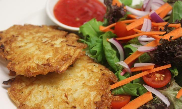 Potato pancakes (Mock fish)