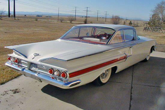 1960 Chevrolet Impala.                                                                                                                                                                                 More