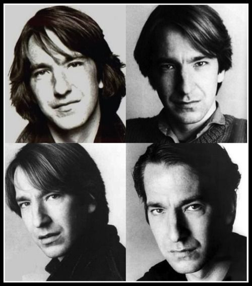 So I may or may not be completely in love with Alan Rickman...
