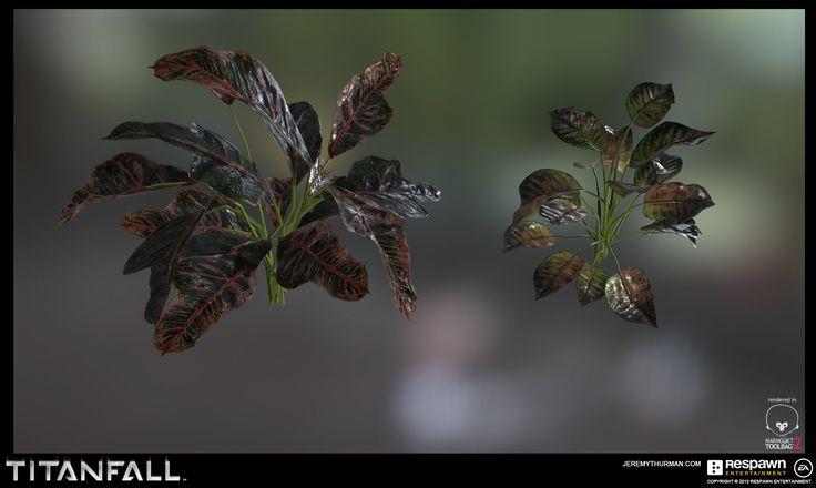 ArtStation - Titanfall Foliage Props , Jeremy Thurman