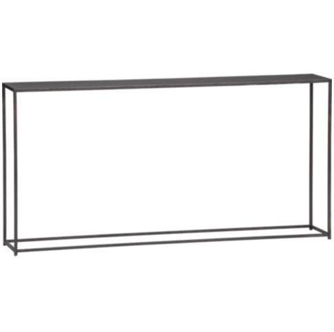 Simple skinny console table just 10 deep perfect for a for Skinny dressing table