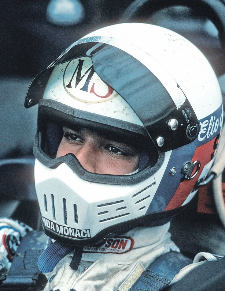 Elio De Angelis classic pianist,playboy and f1 driver