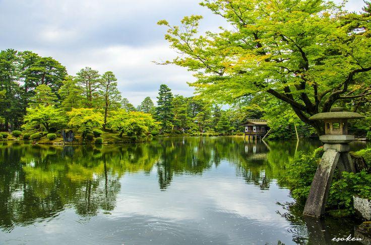 Kenrokuen, Kanazawa, Ishikawa, Japan