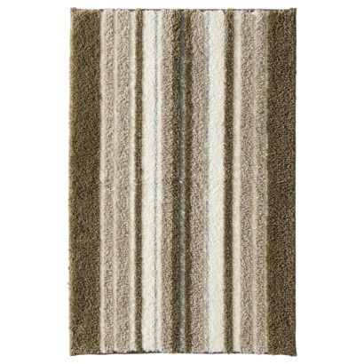 MAVERIC BROWN Threshold  Performance Striped Bath Rug  quot. 1000  images about Schutt bath mats and towel options on Pinterest