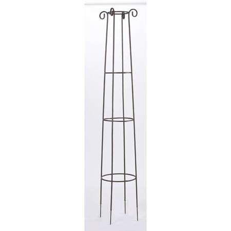 Obelisk Dekorativní podpora pro popínavé rostliny 41 x 200 cm