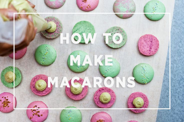 How to make Macarons.