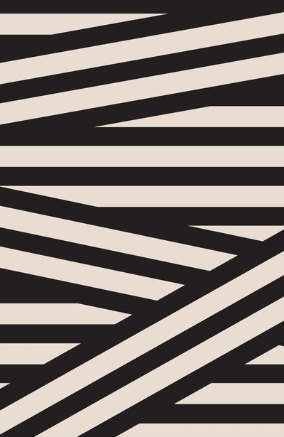 GRAPHIC NOISE The legacy of Bauhaus lives on in graphic black, white and grey / Splicing stripes / Dark, surreal feel with heavy, imposing shadows / Stripes break out into loose, wavy lines / Maze of graphic lines / Stripes also built into 3-D type to create a shattered patchwork print