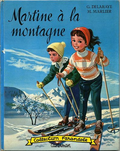 Martine à la montagne, by Gilbert DELAHAYE