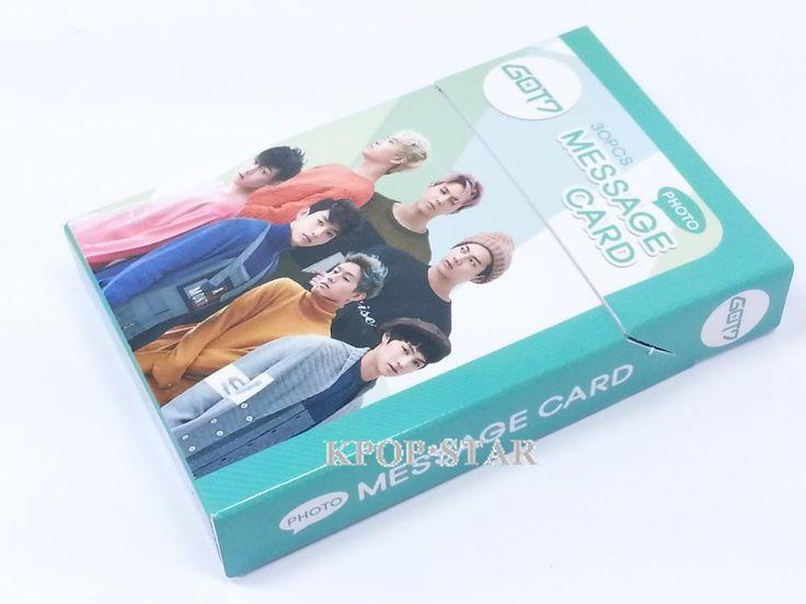 GOT7 Photo Message Card ( 30 Piece ) KPOP K-POP Korean K Pop