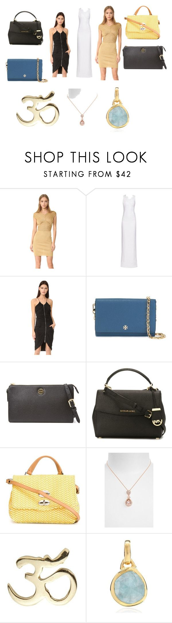 """""""Spring outfit"""" by jamuna-kaalla ❤ liked on Polyvore featuring Antonio Berardi, Moschino, Tory Burch, MICHAEL Michael Kors, Zanellato, Givenchy, Loquet, Monica Vinader and vintage"""