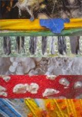"Garden Texture ""A Textile Exhibition by Fibretrix"" 2 Sept-30 Nov, Opening hours: 10.00  Free. The Studio at the Dawyck Visitor Centre, Dawyck Botanic Garden."