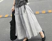 Like the gathering on this skirt and ties