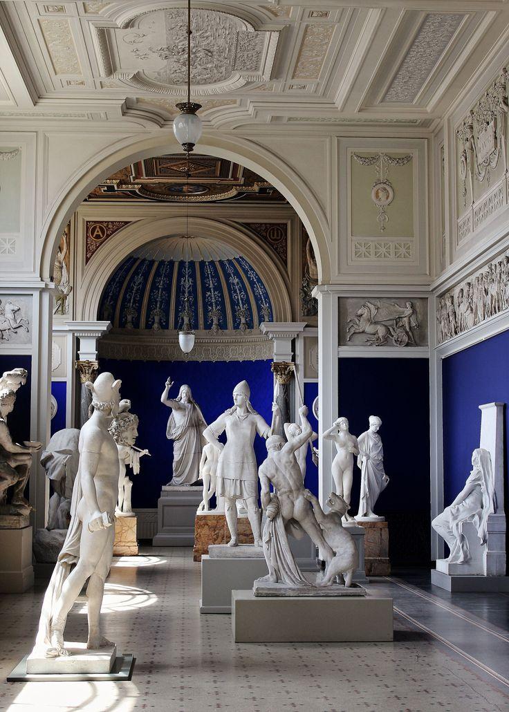 Sculpture Gallery. Ny Carlsberg Glyptotek Museum. Copenhagen Denmark. http://hadrian6.tumblr.com