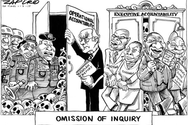 Zapiro: Accountability in the closet - Mail & Guardian