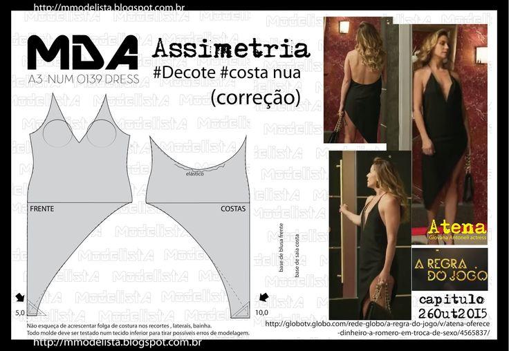 ModelistA: A3 NUMo 0139 DRESS