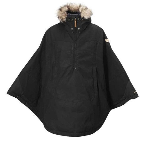 Uh guys is it acceptable to wear a down blanket as a winter coat poncho? Because if this is wrong I don't know what's right.  Luhkka Down | Fjällräven