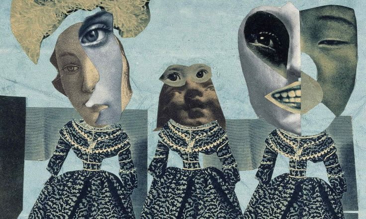 Hannah Hoch – Modenschau (detail), 1925-35 #collage #dada