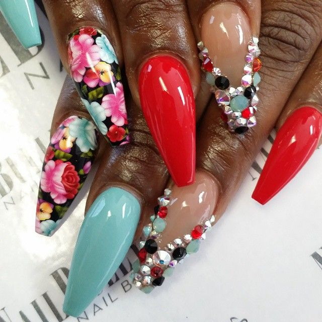 89 best Long nails images on Pinterest | Long nails, Nail scissors ...