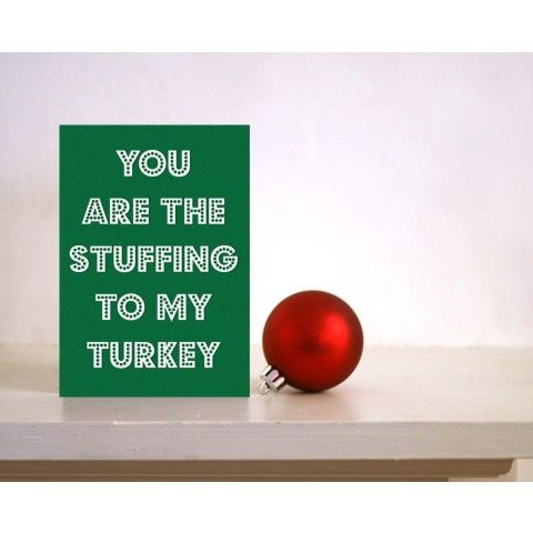 Funny Christmas card available at framestr.com