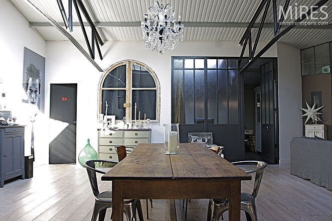 177 Best French Industrial Images On Pinterest French Industrial Dining Room And Dining Rooms