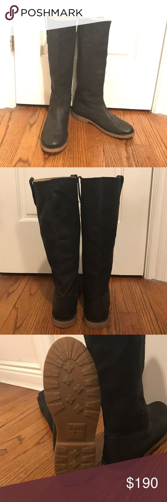 Selling this Frye Tall Riding boots on Poshmark! My username is: criistiinaa. #shopmycloset #poshmark #fashion #shopping #style #forsale #Frye #Shoes