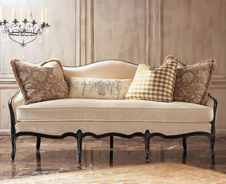 Captivating Decorating With Camelback Sofas