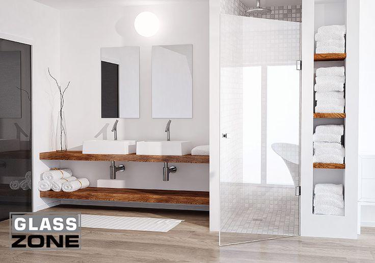 Szklane drzwi prysznicowe GlassZone UNO -RABAT 10% (5317111066) - Allegro.pl - Więcej niż aukcje.