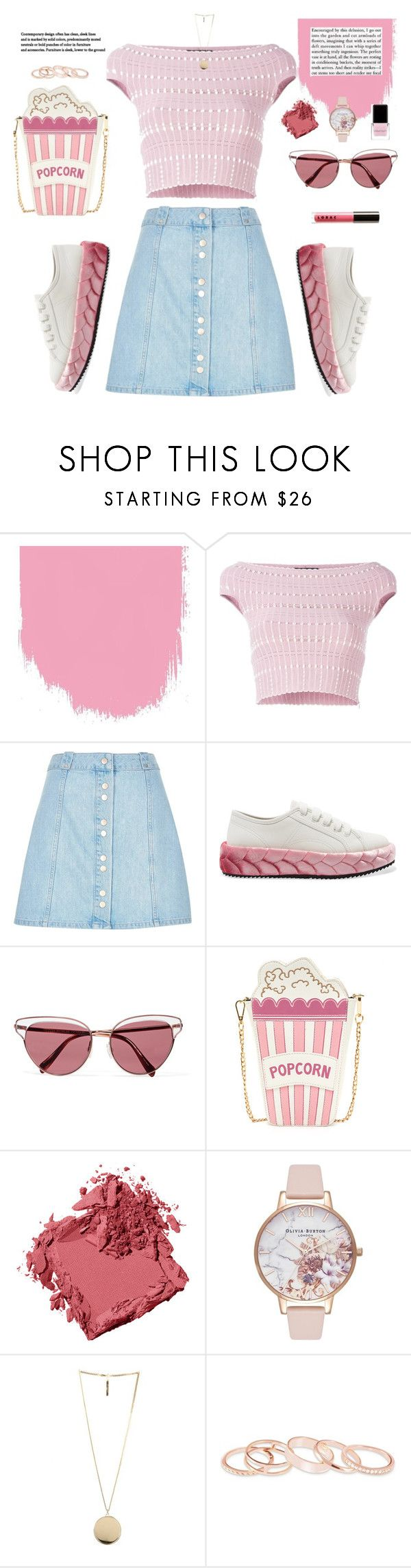 """Bsic"" by aangeles-mendoza ❤ liked on Polyvore featuring Alexander McQueen, River Island, Marco de Vincenzo, Oliver Peoples, LORAC, Bobbi Brown Cosmetics, Olivia Burton, Givenchy, Kendra Scott and Context"