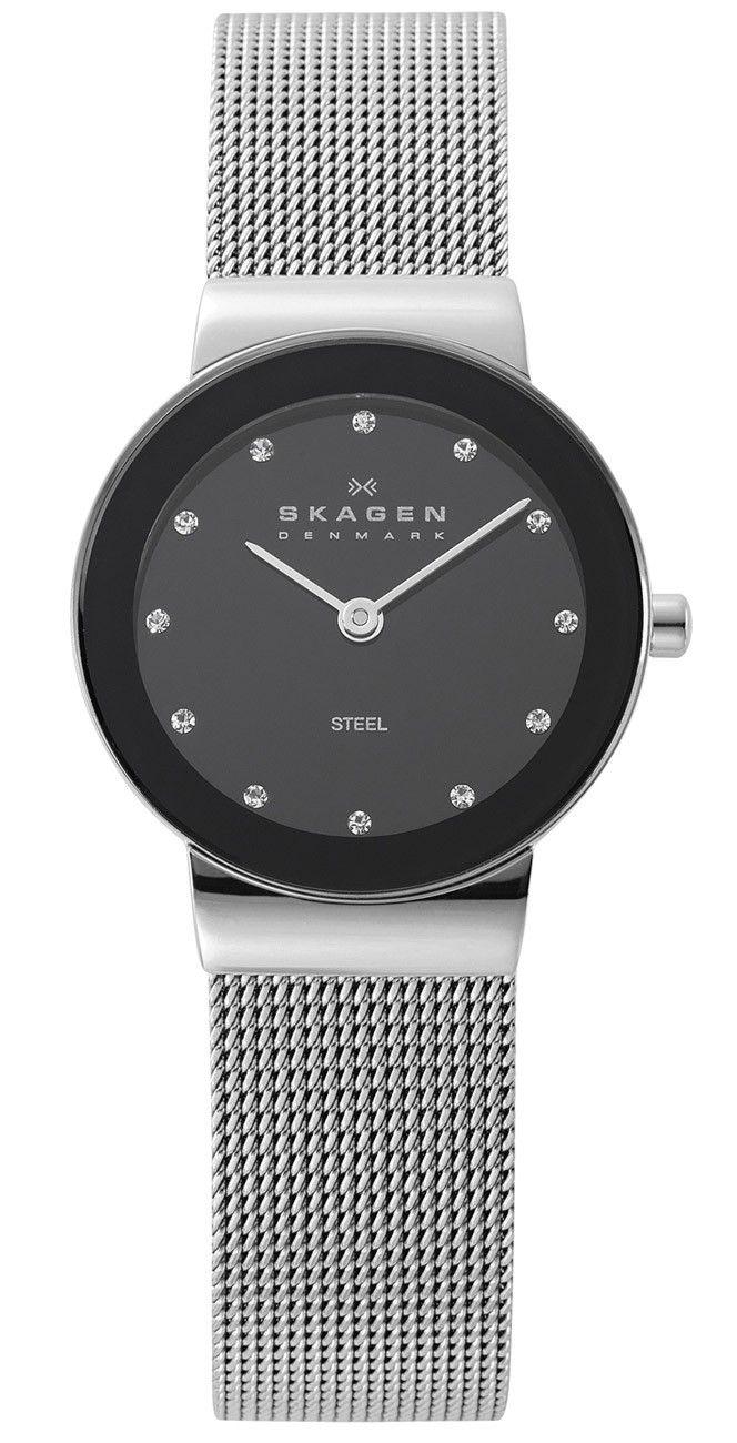 Skagen Klassik Silver Mesh - Elegant armbåndsur produceret af det danske firma Skagen, og er fra deres tidløse kollektion af klassikere, som de meget passende kalder for Skagen Klassik serien.