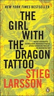 The Girl With The Dragon Tattoo. The whole trilogy is amazing.