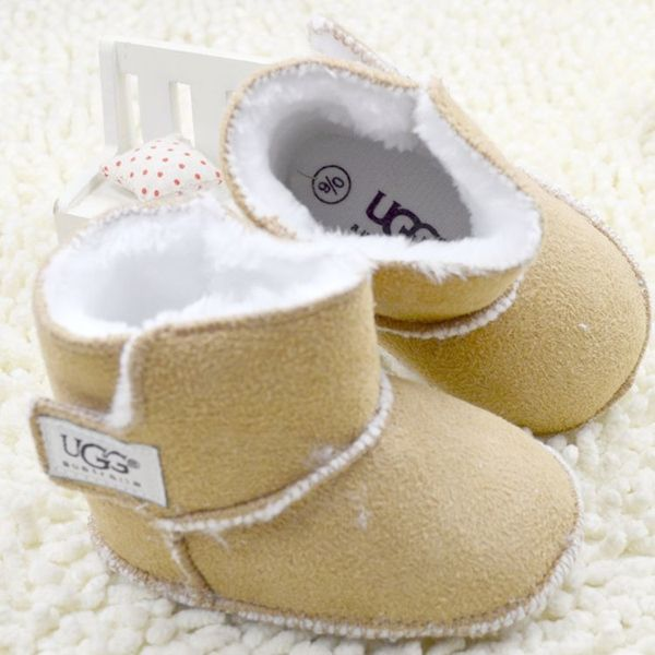 Wholesale Product Snapshot Product name is Winter NewBorn brand Baby Girls footwear bebe Christening Baby First Walker Shoe Prewalker Dress snow boot Slip-on Shoes R385