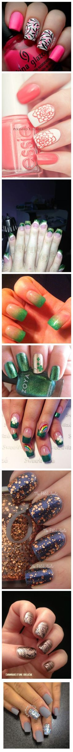 Nail Art Ideas and Designs #slimmingbodyshapers The key to positive body image go to slimmingbodyshapers.com for plus size shapewear and bras