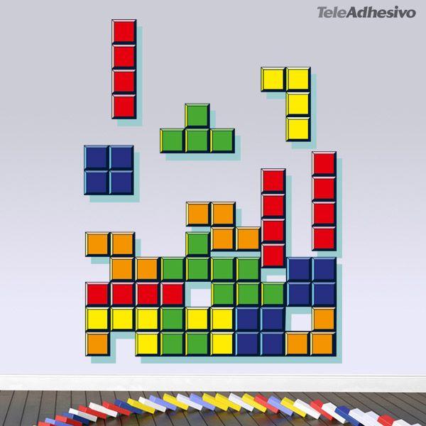 Vinilo decorativo Color block