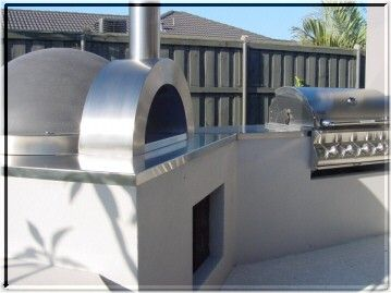 Zesti wood fired pizza ovens and outdoor cooking accessories.