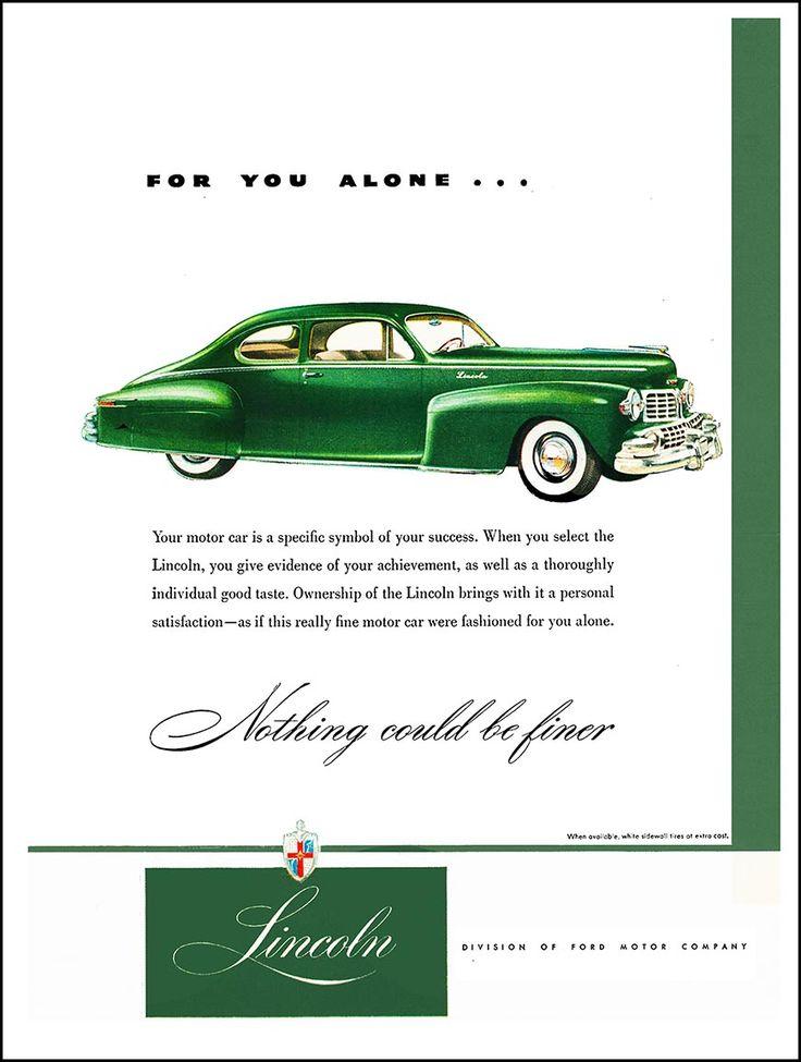2076 best Automobile Ads images on Pinterest   Vintage cars, Retro ...