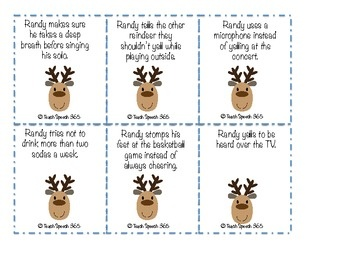 Free!  Healthy Voice Habits with Randy Reindeer