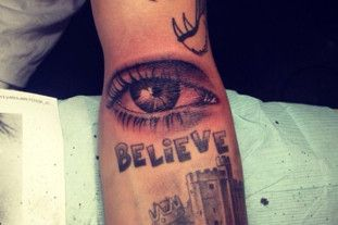 July 17: This Is Justin Bieber's New Tattoo