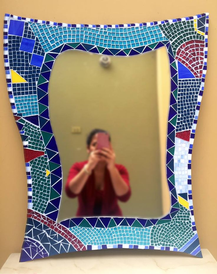 Mosaic Mirror by me :)
