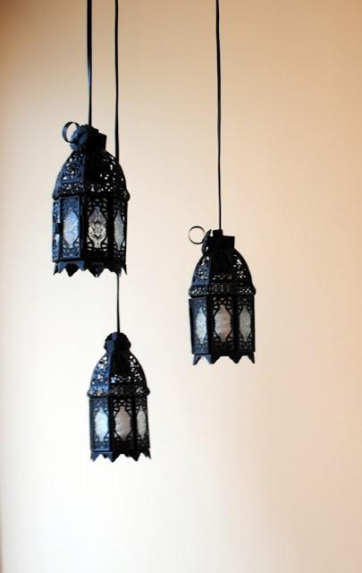 Moroccan Lantern Light Fixture