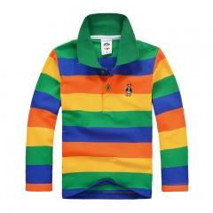 [ 38% OFF ] Kids Boy Girl Polo Shirts School Uniform Shirt Boys Long Sleeve T Shirt Cotton Children Clothes Cheap Price